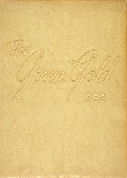 1952 Edition, Wilkes Central High School - Green and Gold Yearbook (North Wilkesboro, NC)
