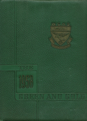 1958 Edition, Wilkes Central High School - Green and Gold Yearbook (North Wilkesboro, NC)