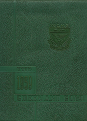 1959 Edition, Wilkes Central High School - Green and Gold Yearbook (North Wilkesboro, NC)