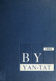 Bartlett Yancey High School - Yan Tat Yearbook (Yanceyville, NC) online yearbook collection, 1966 Edition, Page 1