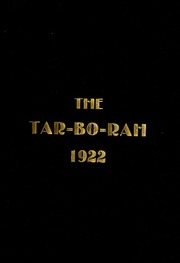Tarboro High School - Tar Bo Rah Yearbook (Tarboro, NC) online yearbook collection, 1922 Edition, Page 1