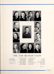 Page 11, 1941 Edition, Tarboro High School - Tar Bo Rah Yearbook (Tarboro, NC) online yearbook collection