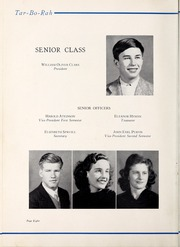 Page 12, 1941 Edition, Tarboro High School - Tar Bo Rah Yearbook (Tarboro, NC) online yearbook collection