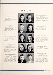 Page 13, 1941 Edition, Tarboro High School - Tar Bo Rah Yearbook (Tarboro, NC) online yearbook collection