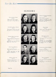 Page 14, 1941 Edition, Tarboro High School - Tar Bo Rah Yearbook (Tarboro, NC) online yearbook collection