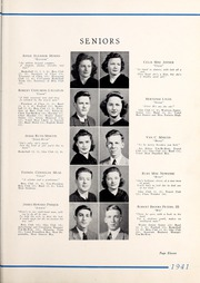 Page 15, 1941 Edition, Tarboro High School - Tar Bo Rah Yearbook (Tarboro, NC) online yearbook collection