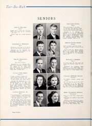 Page 16, 1941 Edition, Tarboro High School - Tar Bo Rah Yearbook (Tarboro, NC) online yearbook collection