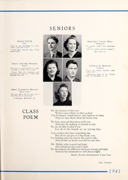 Page 17, 1941 Edition, Tarboro High School - Tar Bo Rah Yearbook (Tarboro, NC) online yearbook collection