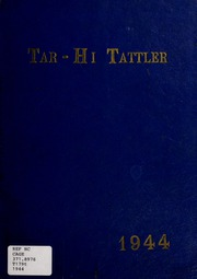 Tarboro High School - Tar Bo Rah Yearbook (Tarboro, NC) online yearbook collection, 1944 Edition, Page 1