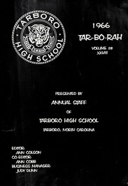 Page 5, 1966 Edition, Tarboro High School - Tar Bo Rah Yearbook (Tarboro, NC) online yearbook collection