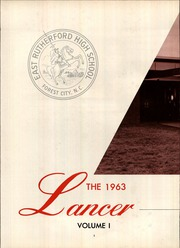 Page 6, 1963 Edition, East Rutherford High School - Lancer Yearbook (Forest City, NC) online yearbook collection