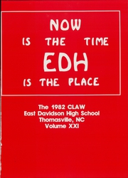 Page 5, 1982 Edition, East Davidson High School - Claw Yearbook (Thomasville, NC) online yearbook collection