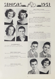Page 12, 1951 Edition, Washington High School - Packromak Yearbook (Washington, NC) online yearbook collection