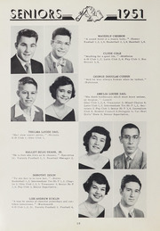 Page 14, 1951 Edition, Washington High School - Packromak Yearbook (Washington, NC) online yearbook collection
