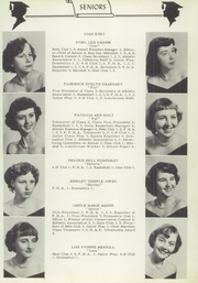 Page 11, 1953 Edition, Swansboro High School - Pirate Yearbook (Swansboro, NC) online yearbook collection