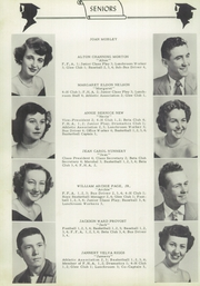 Page 12, 1953 Edition, Swansboro High School - Pirate Yearbook (Swansboro, NC) online yearbook collection