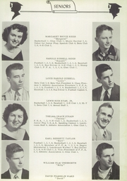 Page 13, 1953 Edition, Swansboro High School - Pirate Yearbook (Swansboro, NC) online yearbook collection