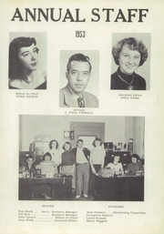 Page 7, 1953 Edition, Swansboro High School - Pirate Yearbook (Swansboro, NC) online yearbook collection