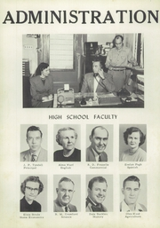 Page 8, 1953 Edition, Swansboro High School - Pirate Yearbook (Swansboro, NC) online yearbook collection