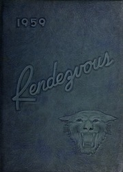 1959 Edition, Randleman High School - Rendezvous Yearbook (Randleman, NC)