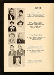 Page 10, 1954 Edition, E E Smith High School - Smithsonian Yearbook (Fayetteville, NC) online yearbook collection