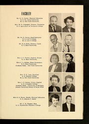 Page 11, 1954 Edition, E E Smith High School - Smithsonian Yearbook (Fayetteville, NC) online yearbook collection