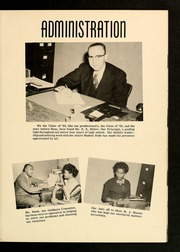 Page 9, 1954 Edition, E E Smith High School - Smithsonian Yearbook (Fayetteville, NC) online yearbook collection