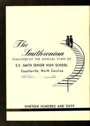Page 6, 1960 Edition, E E Smith High School - Smithsonian Yearbook (Fayetteville, NC) online yearbook collection