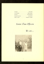 Page 6, 1961 Edition, E E Smith High School - Smithsonian Yearbook (Fayetteville, NC) online yearbook collection