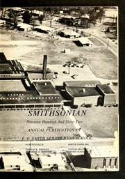 Page 7, 1962 Edition, E E Smith High School - Smithsonian Yearbook (Fayetteville, NC) online yearbook collection