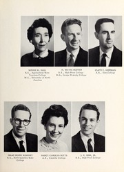 Page 11, 1959 Edition, Central Davidson High School - Spartan Yearbook (Lexington, NC) online yearbook collection