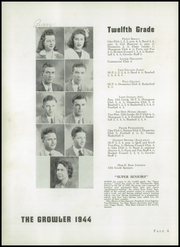 Page 10, 1944 Edition, Thomasville High School - Growler Yearbook (Thomasville, NC) online yearbook collection