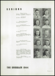 Page 12, 1944 Edition, Thomasville High School - Growler Yearbook (Thomasville, NC) online yearbook collection