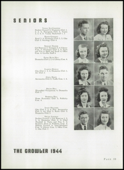 Page 14, 1944 Edition, Thomasville High School - Growler Yearbook (Thomasville, NC) online yearbook collection