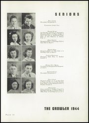 Page 15, 1944 Edition, Thomasville High School - Growler Yearbook (Thomasville, NC) online yearbook collection