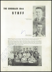 Page 9, 1944 Edition, Thomasville High School - Growler Yearbook (Thomasville, NC) online yearbook collection