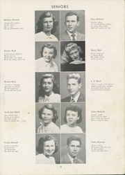 Page 17, 1950 Edition, Thomasville High School - Growler Yearbook (Thomasville, NC) online yearbook collection