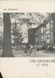 Page 6, 1950 Edition, Thomasville High School - Growler Yearbook (Thomasville, NC) online yearbook collection