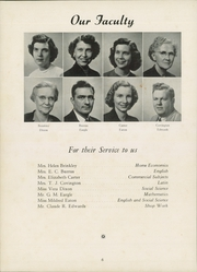 Page 10, 1952 Edition, Thomasville High School - Growler Yearbook (Thomasville, NC) online yearbook collection
