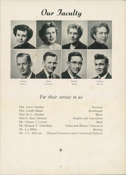 Page 11, 1952 Edition, Thomasville High School - Growler Yearbook (Thomasville, NC) online yearbook collection