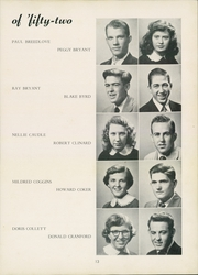 Page 17, 1952 Edition, Thomasville High School - Growler Yearbook (Thomasville, NC) online yearbook collection