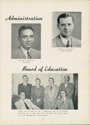 Page 9, 1952 Edition, Thomasville High School - Growler Yearbook (Thomasville, NC) online yearbook collection