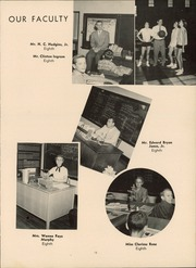 Page 17, 1956 Edition, Thomasville High School - Growler Yearbook (Thomasville, NC) online yearbook collection