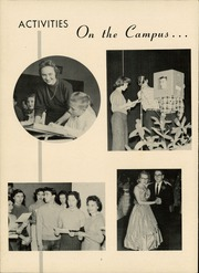 Page 6, 1956 Edition, Thomasville High School - Growler Yearbook (Thomasville, NC) online yearbook collection