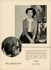 Page 8, 1956 Edition, Thomasville High School - Growler Yearbook (Thomasville, NC) online yearbook collection