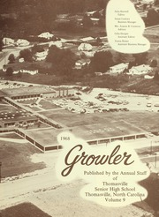 Page 7, 1968 Edition, Thomasville High School - Growler Yearbook (Thomasville, NC) online yearbook collection