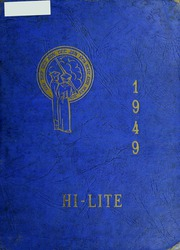 1949 Edition, Carver High School - Memories Yearbook (Winston Salem, NC)