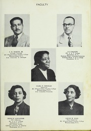 Page 13, 1952 Edition, Carver High School - Memories Yearbook (Winston Salem, NC) online yearbook collection