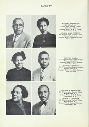 Page 14, 1952 Edition, Carver High School - Memories Yearbook (Winston Salem, NC) online yearbook collection