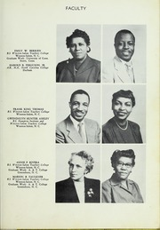 Page 15, 1952 Edition, Carver High School - Memories Yearbook (Winston Salem, NC) online yearbook collection